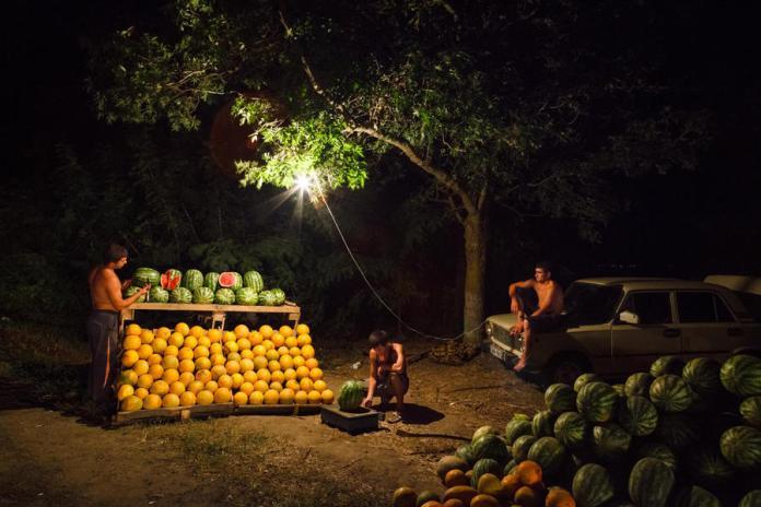 Kirill Golovchenko , Melons amers, ©Kirill Golovchenko