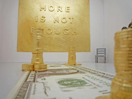 Yann Dumoget, More is not enough, Z.A.N gallery - vue de l'exposition 02