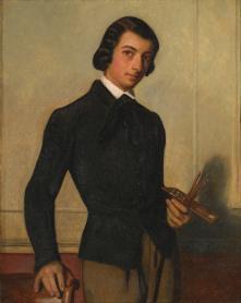 Alexandre Cabanel, Portrait d'un jeune artiste, 1842