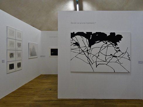 Alexandre Hollan Questions aux arbres d'ici à Lodève - Qu'est-ce qu'une impression