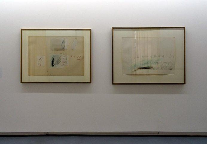 Cy Twombly - Un nouveau regard à la Collection Lambert - Vue de l'exposition 01
