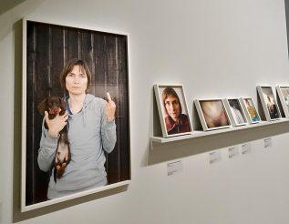 Elina Brotherus « La lumière venue du Nord » - Annonciation (2009-2013)