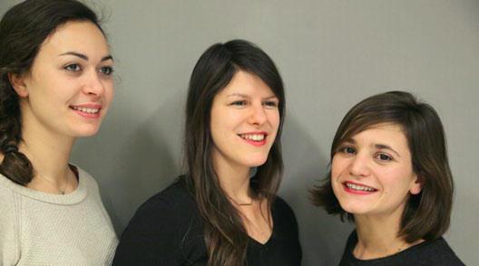FAV 2016 - Judith Chatain, Gabrielle Doublet et Audrey Farinole
