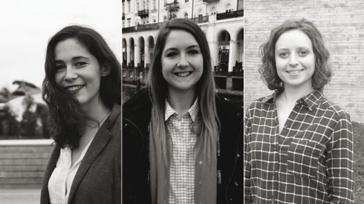 FAV 2016 - Pauline Marquet, Claire Chrestia et Sibylle Jaubert