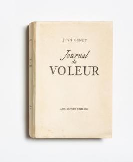 Journal du voleur, édition originale clandestine, 1948 © Fonds Jean Genet/IMEC, photo Michael Quemener