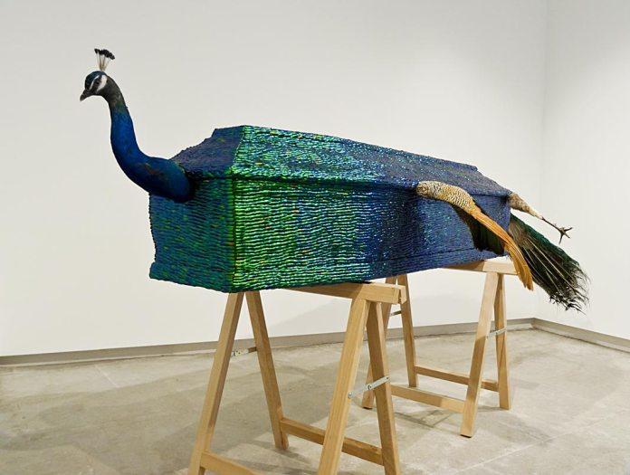Jan Fabre, Stillife with artist (Nature morte avec artiste), 2004 - Vanités à la Maison des Consuls – Les Matelles, Grand Pic Saint-Loup