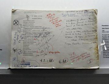 Jean Genet, l'échappée belle au MuCEM - vue de l'exposition - Un captif amoureux