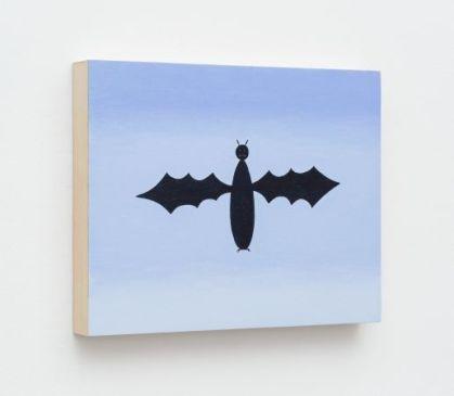 Rodrigo Hernández Bat, 2015 Huile sur panneau 24 x 30 cm Courtesy P420, Bologne
