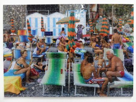 Martin Parr Sans titre, puzzle, 2015 Puzzle en carton de 500 pièces 33 x 47 cm 100 ex. + 6 EA Courtesy GDM Editions, Paris