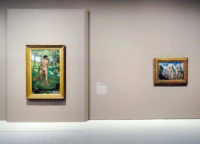Frédéric Bazille, la jeunesse de l'impressionnisme au musée Fabre - Le nu moderne