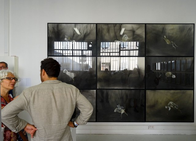 Musée d'art contemporain Arteum de Chateauneuf Le Rouge invite Lionel Sabatté - Paréidolie 2016 - Carte blanche