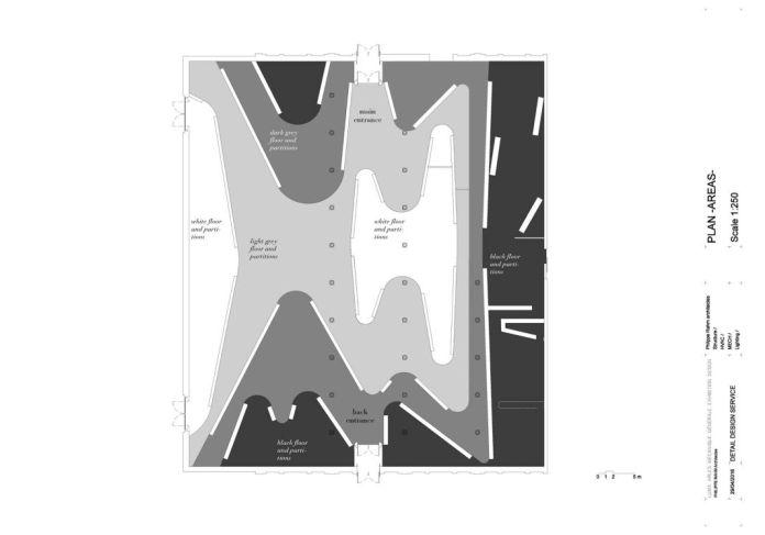 Philippe Rahm, Projet Luminance ( Image Philippe Rahm architectes )