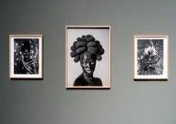 Zanele Muholi, Thandi I, Nuora, Sardinia, Italy, 2015- «Somnyama Ngonyama» - Fondation LUMA Arles, La Mécanique Générale, Arles 2016 - Vue de l'exposition