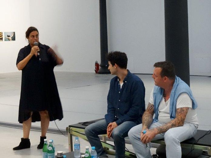 Maja Hoffmann, Jordan Wolfson et Urs Fischer - Conversation à la Fondation LUMA 30 septembre 2016