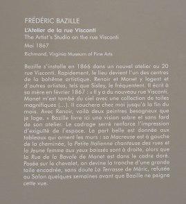 Frédéric Bazille, la jeunesse de l'impressionnisme au musée Fabre - Cartel
