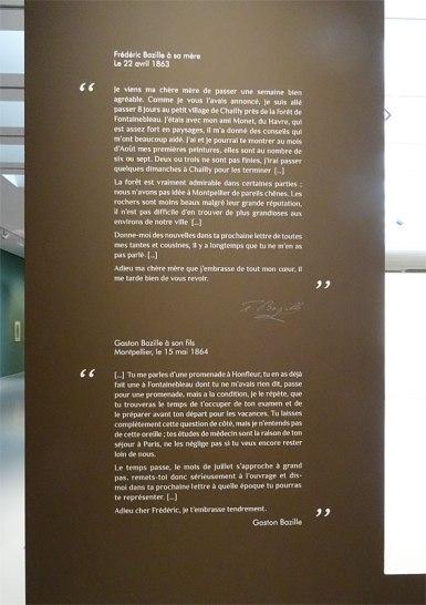 Frédéric Bazille, la jeunesse de l'impressionnisme au musée Fabre - Correspondance 01