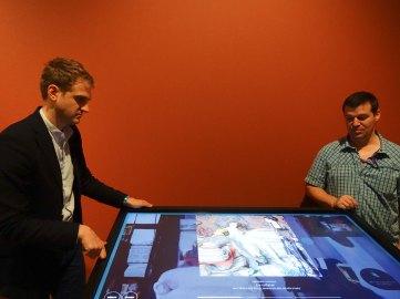 Frédéric Bazille, la jeunesse de l'impressionnisme au musée Fabre - Table tactile