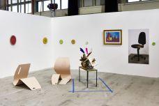 Joseph Tang gallery, Paris, avec Julie Béna, Sean Bluechel, Adam Cruces, and Pepo Salazar ART-O-RAMA 2016, Marseille ©jcLett
