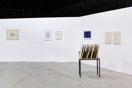 P420 gallery, Bologna, avec Riccardo Baruzzi, Irma Blanck, Rodrigo Hernández, Alessandra Spranzi ART-O-RAMA 2016, Marseille ©jcLett