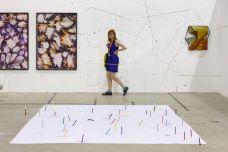 Pact Gallery, Paris, avec Dorian Gaudin and Manuel Scano Larrazàbal ART-O-RAMA 2016, Marseille ©jcLett
