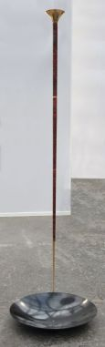 Exposition Athanor, Vladimir Skoda, Sans titre, acier, mercure, 15 x 34,5 cm, 1986