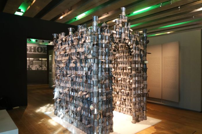 Vue de l'exposition « Café in », Octobre 2016 – MuCEM © Mucem – Agnès Mellon
