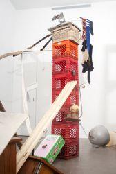 Abraham Cruzvillegas. Vue d'exposition, Agustina Ferreyra Gallery, San Juan Puerto Rico, 2016 Courtesy de l'artiste & Agustina Ferreyra Gallery, San Juan Puerto Rico © Abraham Cruzvillegas