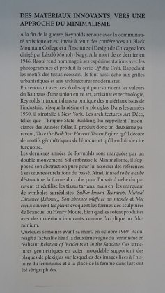 Raoul Reynolds: une rétrospective, Texte de salle. Exposition à la Friche la Belle de Mai.