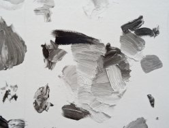 Urs Fischer, Grayscale Mixing Palette #1, 2016 - « Mon cher… » à la Fondation Vincent van Gogh Arles. Impression jet d'encre de papier peint sur papier en nylon renforcé / Inkjet wallpaper prints on nylonreinforced paper Édition illimitée / Unlimited edition