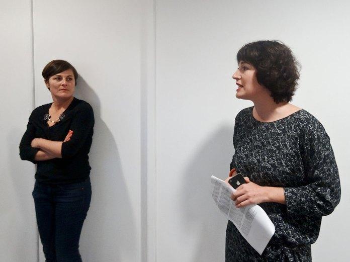 Sandra Patron et Celine Kopp, MRAC Sérignan