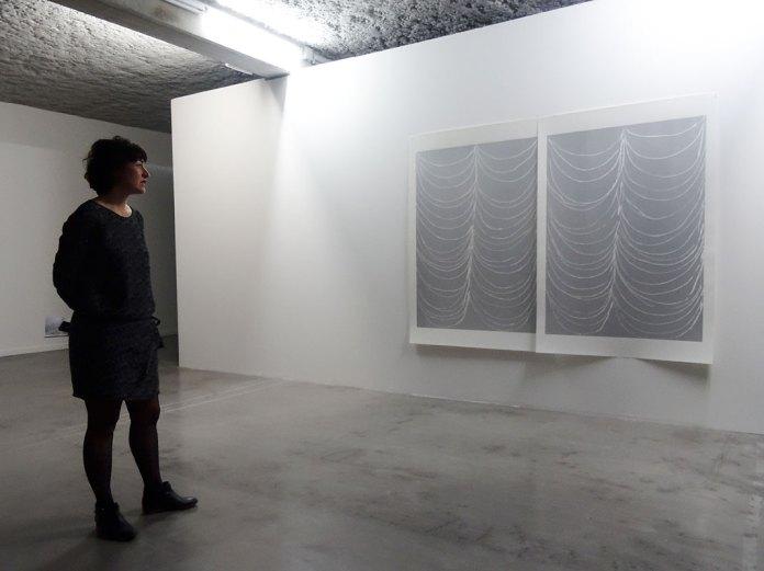 Andrea Büttner,Curtain, 2016. MRAC Sérignan