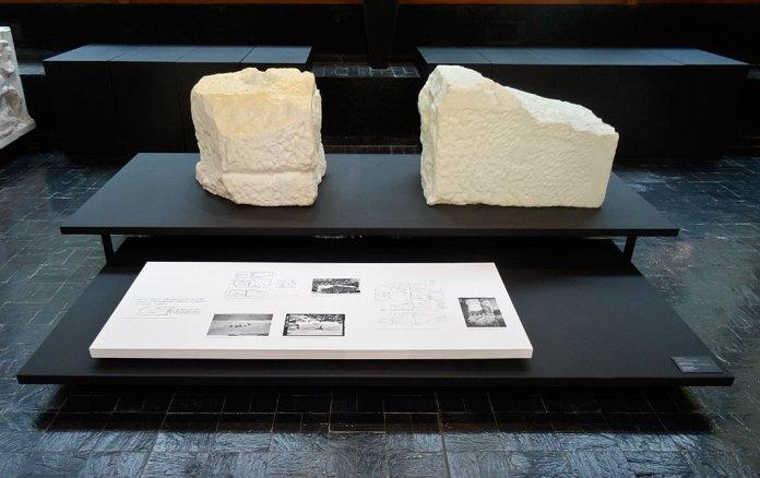 Arnaud Vasseux - Les pierres oubliées de Samothrace au Musée des Moulages, Montpellier