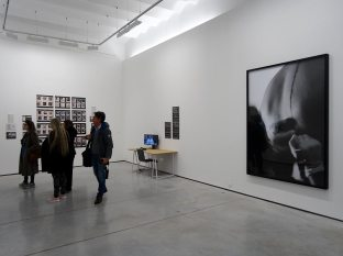 Intérims (Art contre emploi) à La Panacée Vue de l'exposition