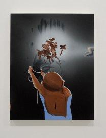 Tala Madani à La Panacée Vue de l'exposition