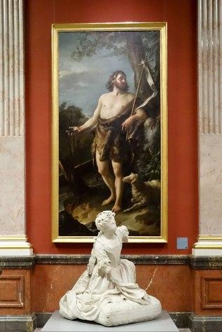 Joseph-Marie Vien, Saint Jean-Baptiste, vers1746 - Musée Fabre - Galerie des Colonnes