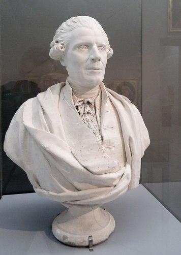Louis Deseine, Buste de Joseph-Marie Vien, 1787 - Musée Fabre - Salle Subleyras