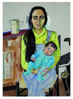 Alice Neel, Ginny et Elizabeth 1975 Huile sur toile, 106,7 x 76,2 cm Succession d'Alice Neel Crédit photo : Ethan Palmer