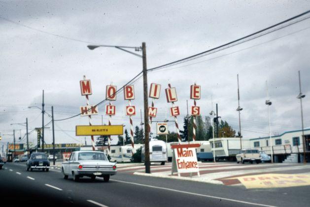 Donald Appleyard, Axes commerciaux, octobre 1966 © Donald Appleyard