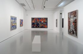 François Rouan, Tressages 1966-2016 au musée Fabre - Vue de l'exposition 05
