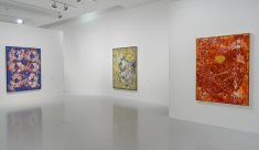 François Rouan, Tressages 1966-2016 au musée Fabre - Vue de l'exposition 06