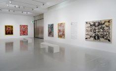 François Rouan, Tressages 1966-2016 au musée Fabre - Vue de l'exposition 07