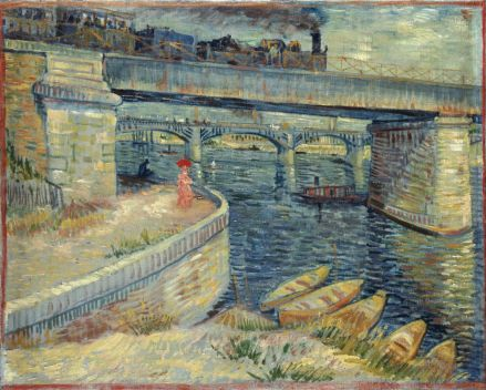 Vincent van Gogh, Les Ponts d'Asnières 1887 Huile sur toile, 53,5 x 67 cm Fondation Collection E. G. Bührle, Zurich