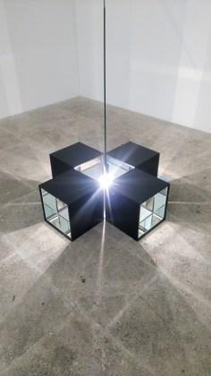 """A.I.L.O cherche le dialogue entre lumière et sculpture - photo """"Résidence lignes de vie"""""""