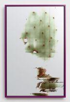 Adrien Missika, Cactus frottage, 2012 Fond Municipal d'Art Contemporain, ville Gennevilliers