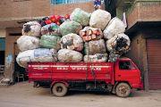 Véhicules de transport des déchets, Le Caire, Egypte, 2015, photo David Degner. © David Degner / Mucem