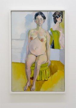 Alice Neel, Margaret Evans enceinte,1978