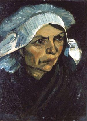 Van Gogh, Tête de paysanne, 1885. Huile sur toile, 41 x 30.5 cm. Fondation Collection E. G. Bührle, Zurich