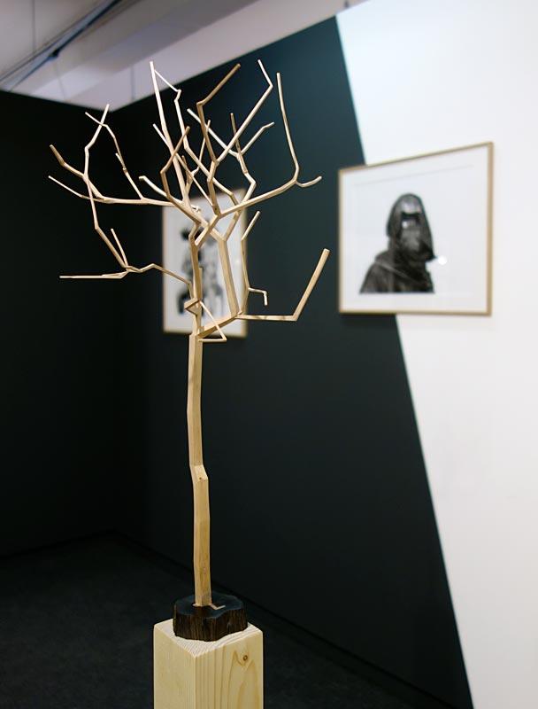 Toufik Medjamia, Arbre entier rationalisé - Beautiful Africa à la Galerie du 5e – Marseille