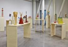 Vues de l'exposition Jean-Louis Delbès, une autre histoire, Plateau expérimental, FRAC PACA - Photo Jean-Christophe Lett