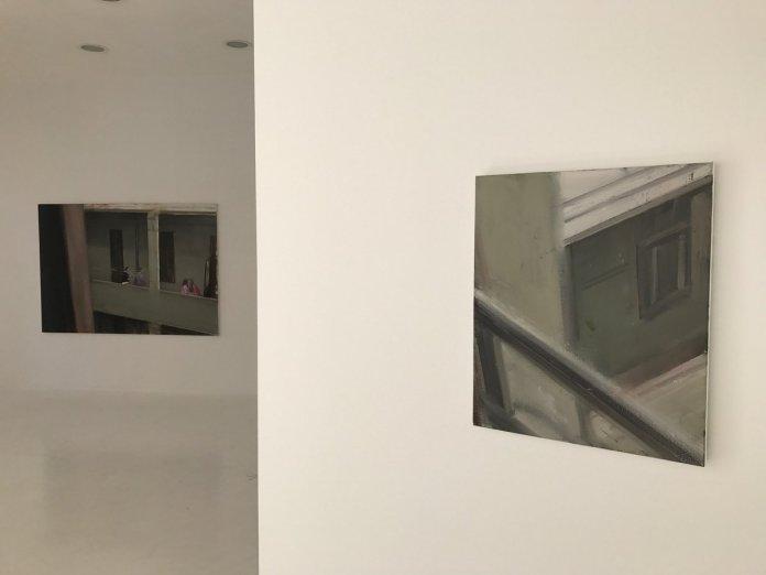 Florin Stefan, La boîte rouge chez Iconoscope à Montpellier. Photo Galerie Anne-Sarah Benichou. Courtesy de l'artiste et galerie Anne-Sarah Bénichou